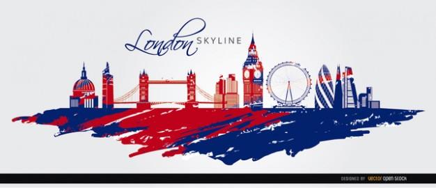 londra-bandiera-skyline-silhouette_72147511295